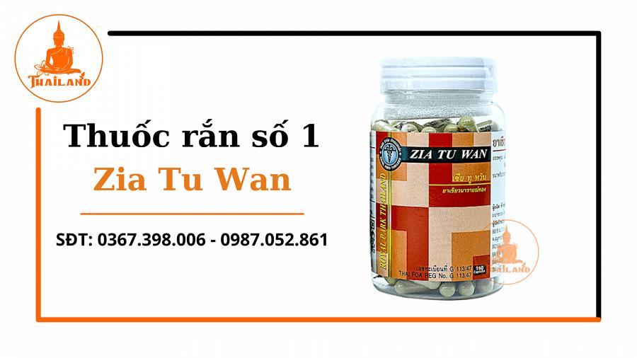 giải độc gan với Zia Tu Wan