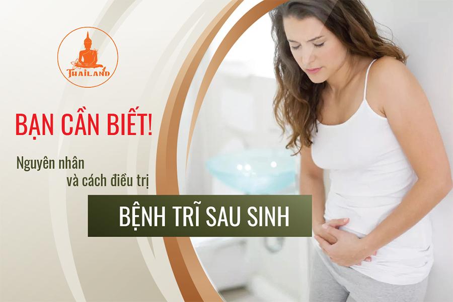 Bệnh trĩ sau sinh