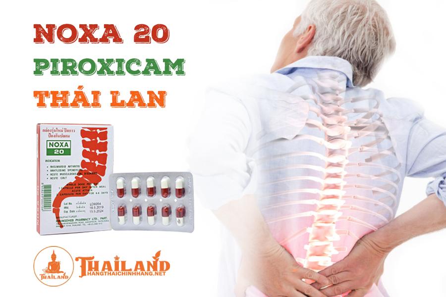 Cách sử dụng viên uống Noxa 20 Thái Lan