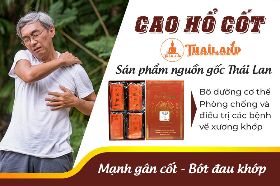 Cao hổ cốt Hoàng Gia Thái Lan