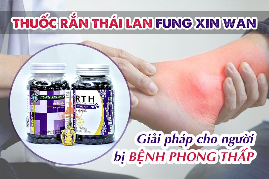 Công dụng của Thuốc rắn Fung Xin Wan Royal Park Thailand