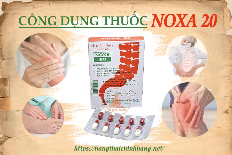Công dụng của thuốc Noxa 20 Piroxicam