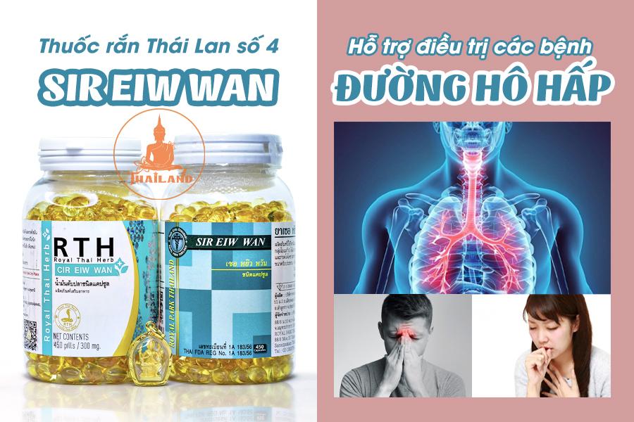 Thuốc rắn Sir Eiw Wan chữa bệnh gì? Có tốt không?