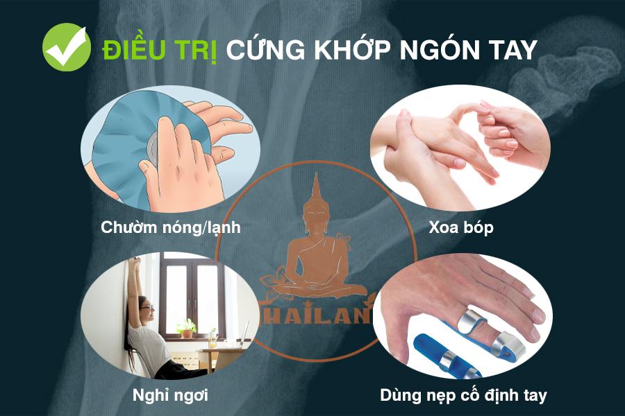 Cách điều trị cứng khớp ngón tay