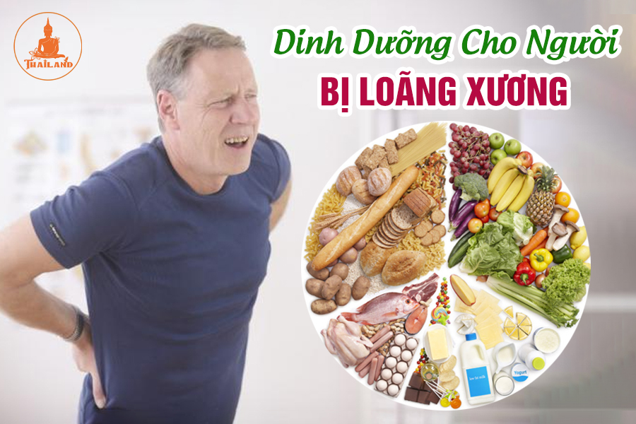 Chế độ dinh dưỡng cho người bị loãng xương