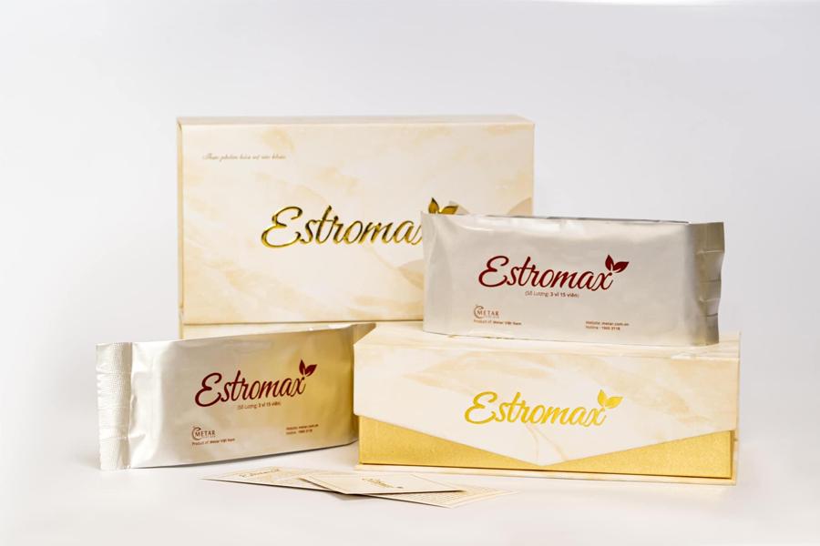 Bổ sung nội tiết tố nữ từ thiên nhiên - Estromax