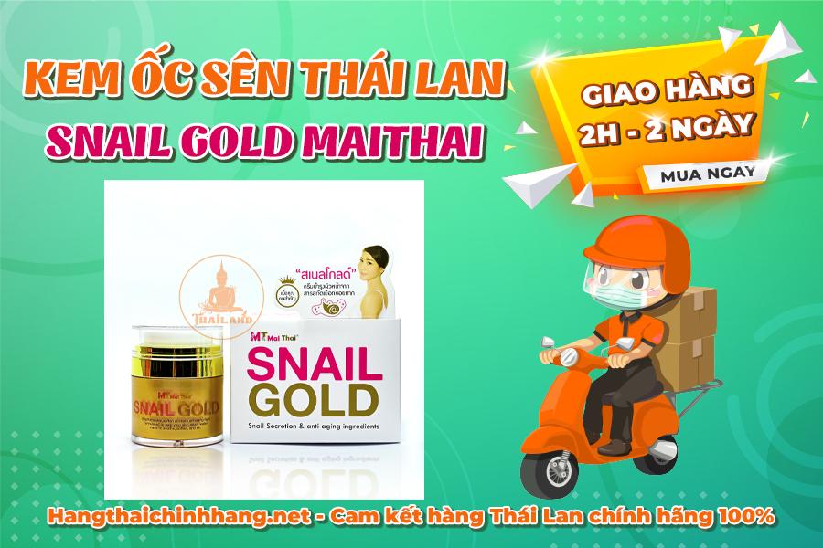 Mua kem ốc sên Snail Gold MaiThai
