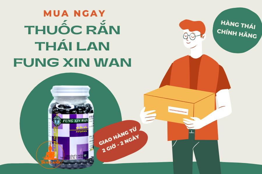 Mua ngay thuốc rắn Thái Lan Fung Xin Wan