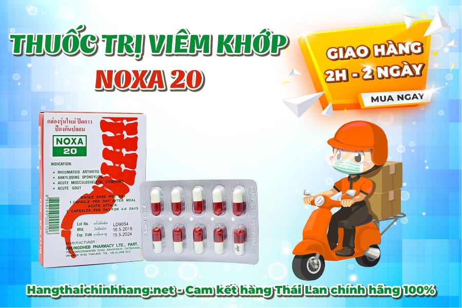 Mua viên uống trị Viêm khớp Noxa 20: giao hàng từ 2h đến 2 ngày