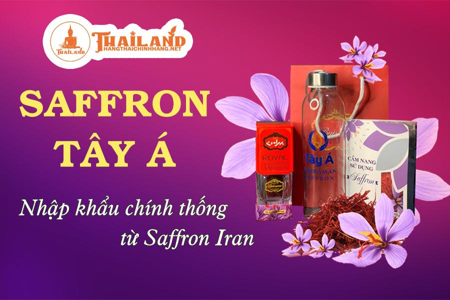 Nhuỵ hoa nghệ tây Saffron Tây Á