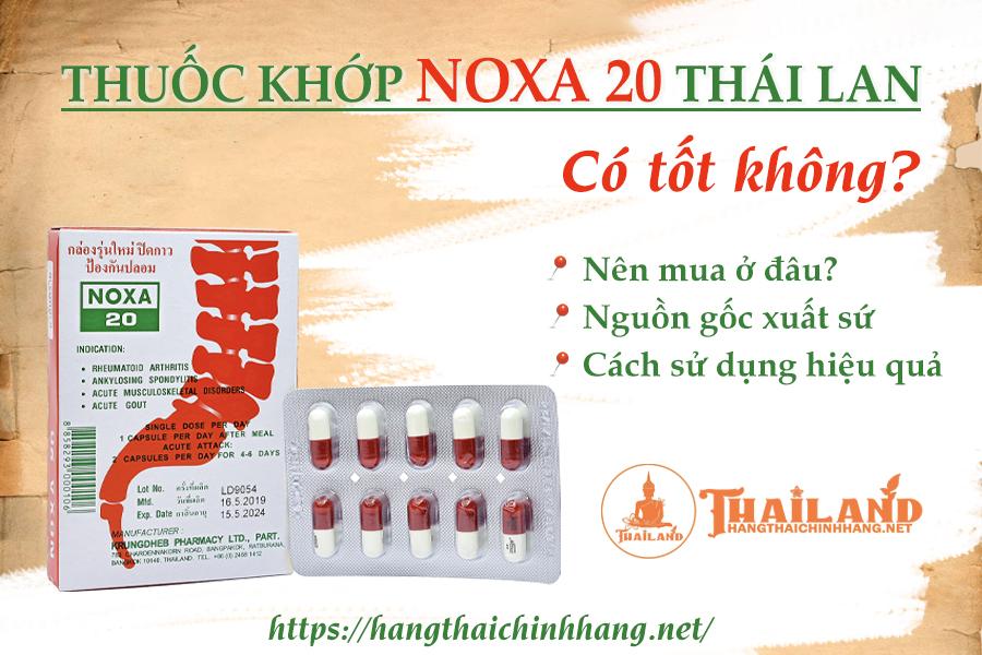 Thuốc khớp Noxa 20 Thái Lan