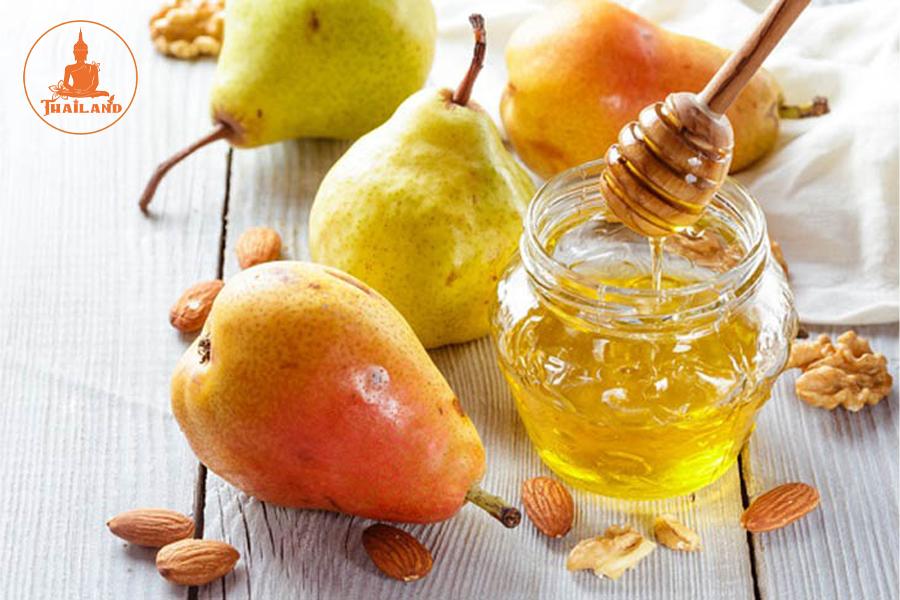 Bài thuốc nước ép lê với mật ong dành cho người bệnh tiểu đường