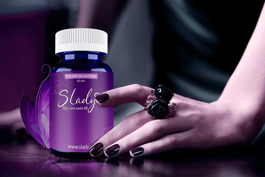 Slady - Thực phẩm chức năng cân bằng nội tiết tố nữ