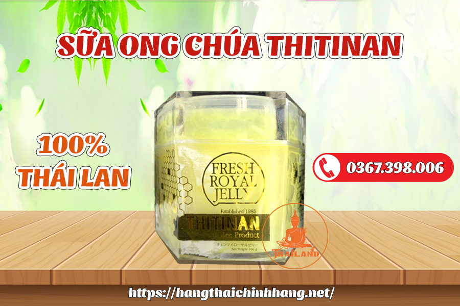 Sữa ong chúa Thitinan Thái Lan