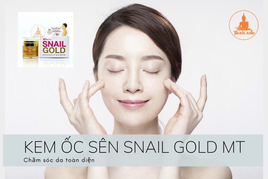 Tác dụng của Kem ốc sên Snail Gold MaiThai