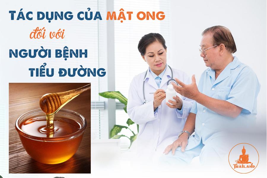 Tác dụng của mật ong đối với người bệnh tiểu đường