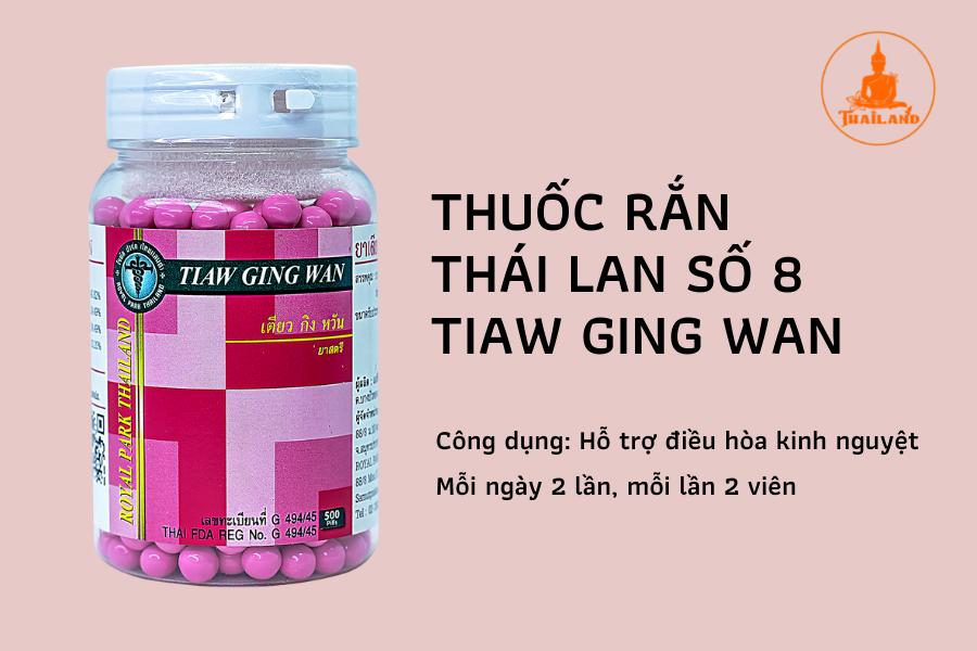 Thuốc rắn Thái Lan giúp điều hoà kinh nguyệt hiệu quả