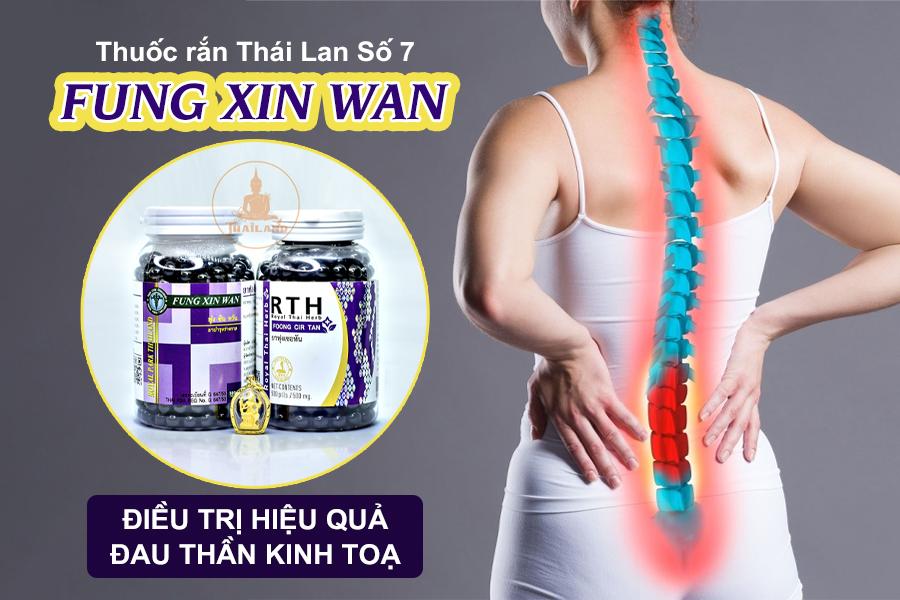 Thuốc trị đau thần kinh toạ Fung Xin Wan Thái Lan
